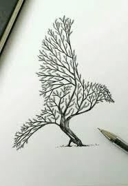 a bird or a tree cnsteem