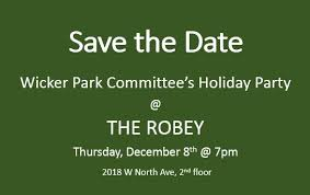 wpc holiday party at the robey u2014 wicker park committee
