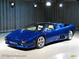 lamborghini diablo roadster for sale 1998 lamborghini diablo vt roadster in chiaro blue photo 3