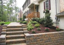Retaining Wall Stairs Design Retaining Wall Ideas Here Are Some Ideas For Incorporating