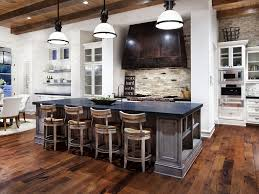 kitchen island 29 rustic modern kitchen design with natural full size of kitchen island 29 rustic modern kitchen design with natural stone backsplash and