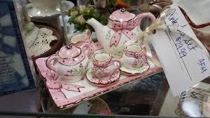 little tea table set tea set village emporium