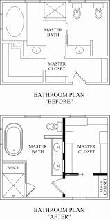 Bathroom Remodel Floor Plans by Small Carpenters At Large