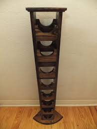 buy a hand crafted tall skinny wine rack made to order from thh