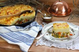 turkey skillet shepherd s pie recipe kitchen vignettes pbs food
