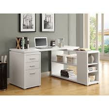 Overstock Corner Desk White Hollow Left Or Right Facing Corner Desk Free Shipping