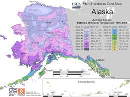 Alaska State Map by Alaska Plant Hardiness Zone Map U2022 Mapsof Net