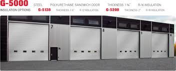 Norwood Overhead Door G 5000 Commercial Garage Doors Norwood Overhead Door