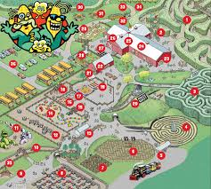 map attractions park attractions map maize quest corn maze parkmaize