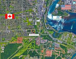 Niagara Falls Canada Map by Tourist Commercial Development Land For Sale Niagara Falls Greg