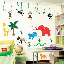 huge animal jungle wall mural stickers wall sticker outlet wall large jungle safari wall stickers wall stickers decals