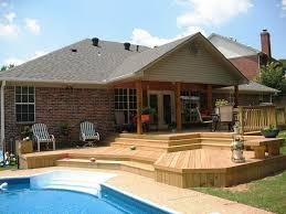 the unique backyard deck ideas