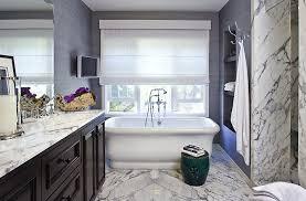purple grasscloth contemporary bathroom estee stanley