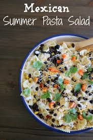 Mexican Pasta Salad Mexican Summer Pasta Salad U2013 It U0027s A Lovely Life