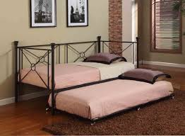 total fab twin bed with pull out slide out trundle bed