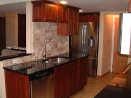 solid wood cabinets reviews solid wood cabinets m u shaped brown wooden cabinets dark kitchen