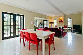 Red Dining Room Chair Be Confident With Color U2013 How To Integrate Red Chairs In The