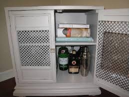 Diy Bar Cabinet Interior Groupie Diy Bar Cabinet