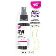 Glow In The Dark Spray Paint Colors - tulip natural glow in the dark fabric spray paint hobby lobby