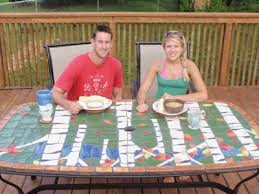 Mosaic Patio Tables Make Your Own Ceramic Mosaic Patio Table For Cookout Season