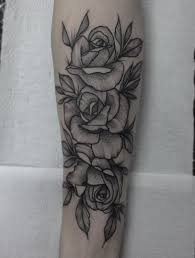 flower tattoos on forearm first tattoo done today yeahtattoos com