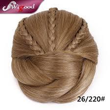 hair bun clip 1pc 50g postiche chignon hairstyle hair bun pieces braids