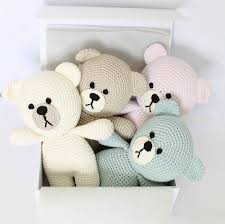 hand crafted baby first teddy bear by attic notonthehighstreet com