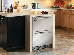 under cabinet fridge and freezer undercounter refrigerator drawers view in gallery under counter