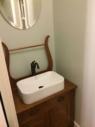 Antique Sinks Diy Turning An Antique Wash Stand Into A Bathroom Vanity Wash