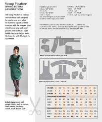 pattern layout on fabric scoop pinafore sewing pattern available on paper or to download
