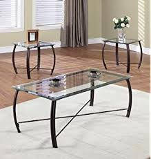 Glass Top Coffee Tables And End Tables 3 Coffee Table Set Glass Tops Coffee Table