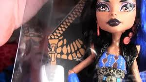 Halloween Monster High Doll Robecca Steam Monster High Doll Costume Makeup Tutorial For