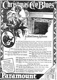 Blind Lemon Jefferson Matchbox Blues Paramount Ad Blind Lemon Jefferson