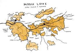 France Regions Map by Loire Valley Wine Guide Wine Folly