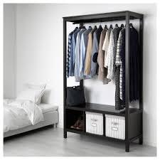 Wardrobes Ikea Hemnes Open Wardrobe White Stained Ikea