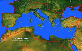 Arabian Desert Map Map Of The Roman Empire Bible History Online