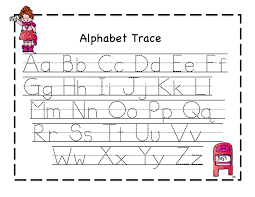 abc tracing sheets for preschool kids kiddo shelter alphabet