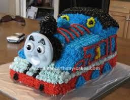 coolest thomas the tank engine birthday cake