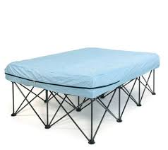 full portable bed frame for air filled mattresses with bag page
