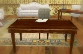second life marketplace vintage writing desk write in book