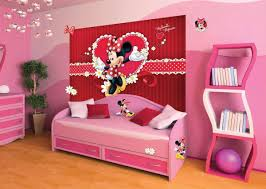 mickey mouse home decorations pink wall mickey mouse room decorating ideas with pink bed frame