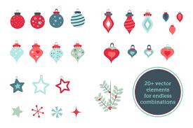 christmas vector brushes u0026 pattern pack by mm studio design
