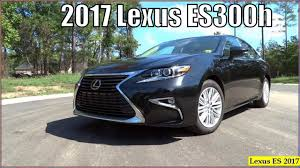 lexus sedan reviews 2017 lexus es 2017 new 2017 lexus es300h hybrid interior review youtube