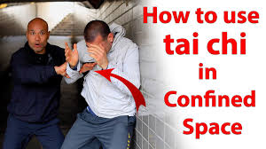 how to use tai chi in confined space tai chi combat youtube
