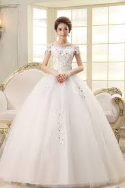 wedding gowns fashion shoulder vintage organza wedding gown
