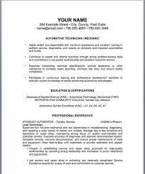 mechanics resume diesel mechanic resume hotel management resume resumecompanion
