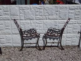 cast iron bench ends garden furniture patio furniture