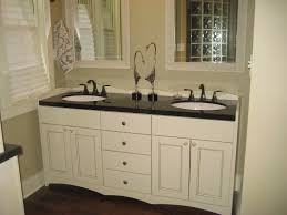 bathroom ideas dark countertop white bathroom cabinets above