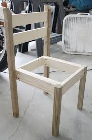 Making Wooden Patio Chairs by How To Build A Diy Kids Chair Play Table Plays And Woodworking