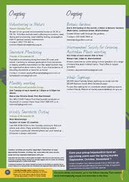 nature glenelg trust cross border environmental events calendar